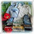 Zestaw chłopiec 86 92 98 Gratisy