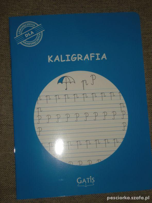 zeszyt do kaligrafii Gatis nowy