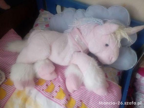 duzy jednorozec pony 55cm
