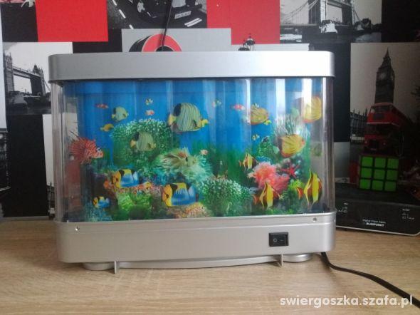 Lampka Akwarium dekoracyjna niemiecka