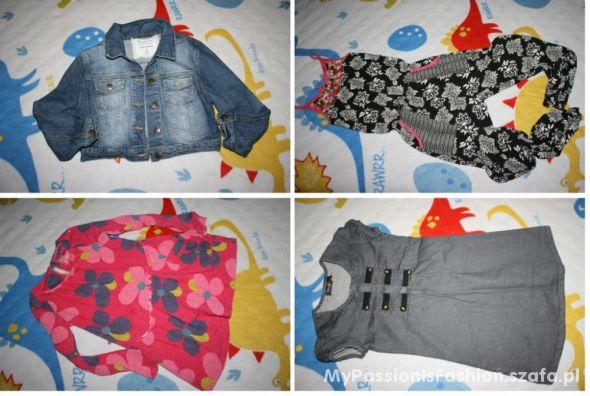 Paka 28szt ubrań dla dziewczynki 8 do 12 lat