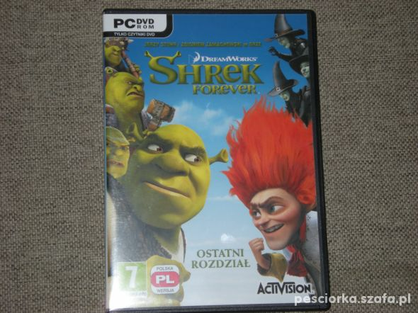 Gra PC Shrek Forever