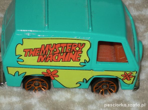 Scooby Doo autko Hot Wheels