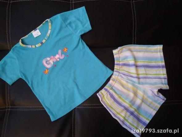 piżama 110 niebieska