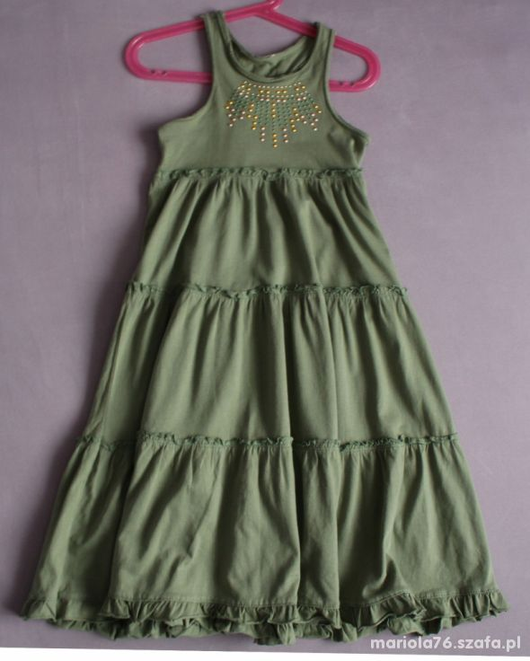 Sukienka Dluga Maxi Next George Matalan 128 134