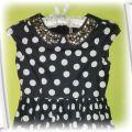 Elegancka sukienka Next 128cm