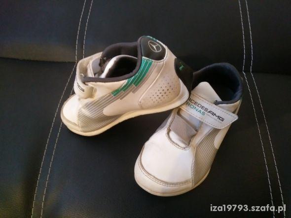 buty PUMA adidasy 28 białe