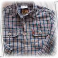 Koszula dla chłopca ok 3 latka jeansowa