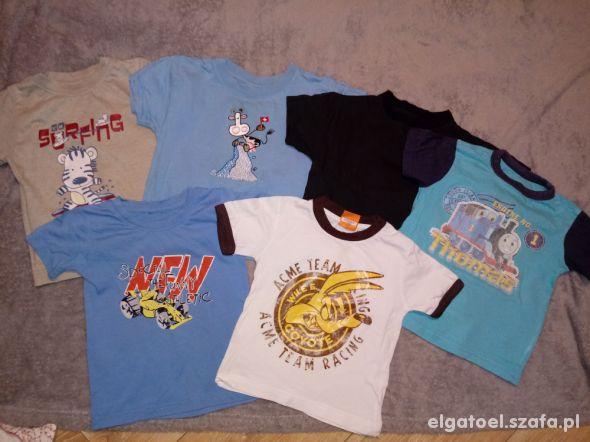 6 x koszulka