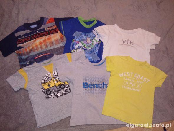 6 x koszulki dla chłopca