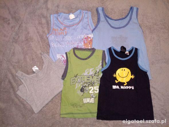 koszulki dla chłopczyka