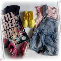 Ubranka dla dziewczynki wiek ok 6do7l na sztuki