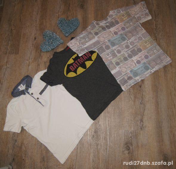 Bluzeczka koszulka zestaw Batman F&F rozm 116