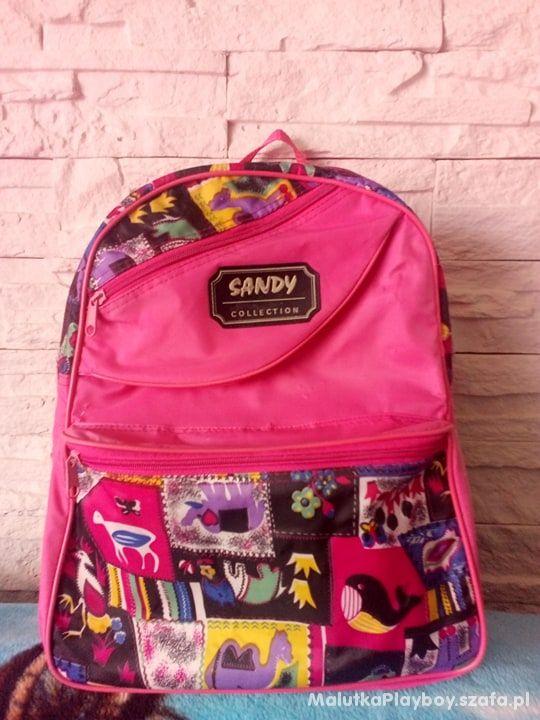Plecak tornister szkolny Różowy