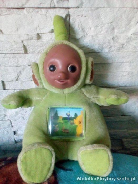 Teletubiś Dipsy Zielony z telewizorkiem