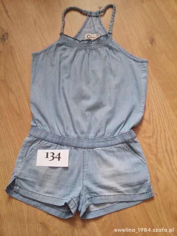 PAKA ubrań 128 134