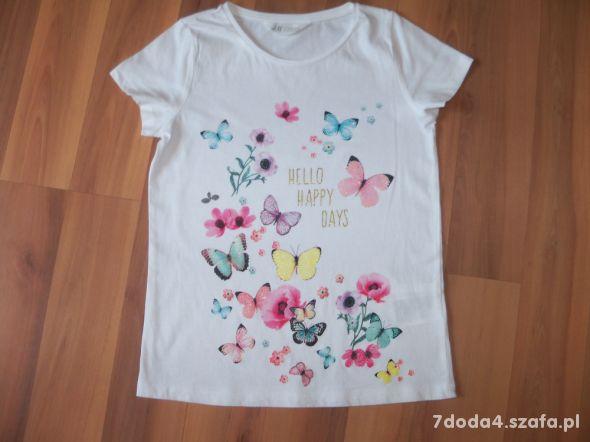 Bluzka H&M rozm 134 140 cm