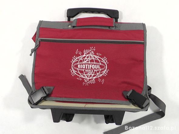 BIOTIFOUL tornister plecak szkolny na kółkach 30