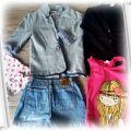 Ubrania dla dziewczynki 116