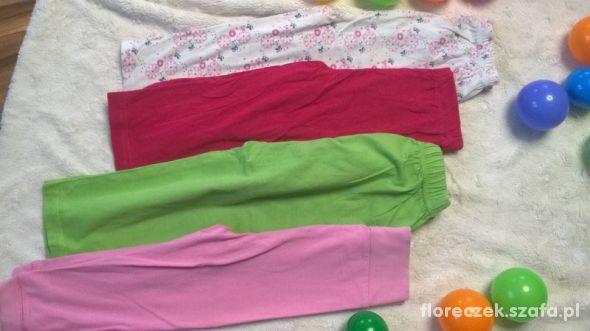 r 92 4 pary spodni od piżamy