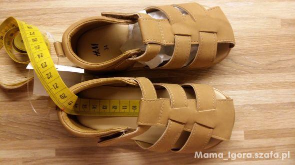Sandały h&m z zakrytymi palcami