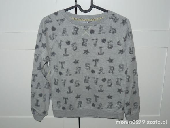Bawełniana bluza CoolCLub jak nowa 146 152