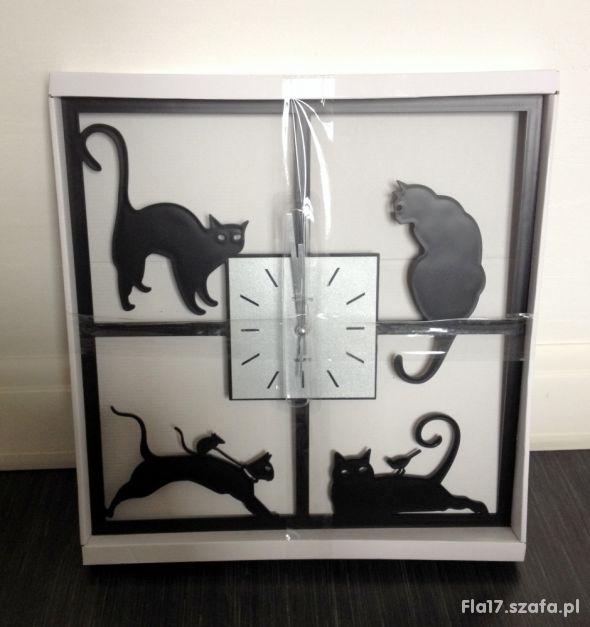 TIMEKING zegar ścienny koty 933B gwarancja NOWY