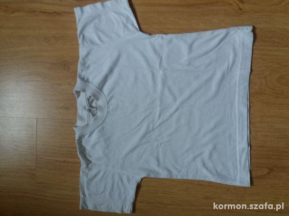 Koszulka Biała na wf rozm 116 cm