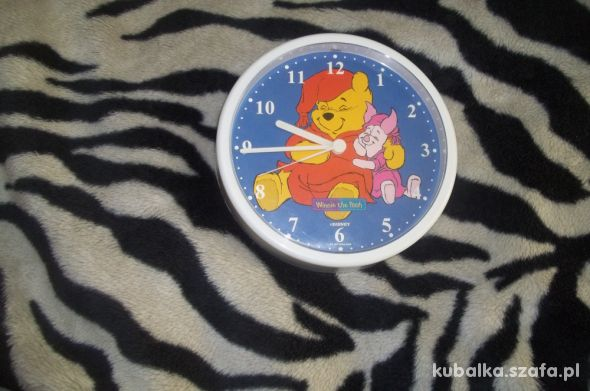 Zegar ścienny do pokoju dziecka