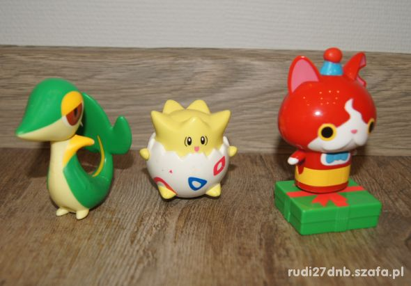 Figurki zestaw kolekcja Pokemon