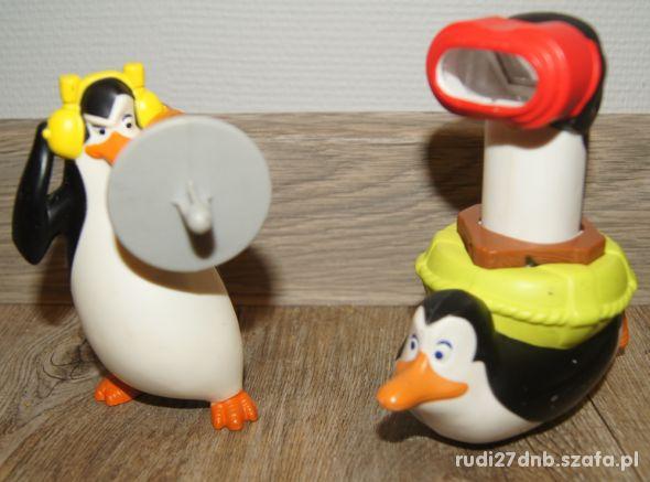 Figurki zestaw kolekcja Pingwiny z Madagaskaru