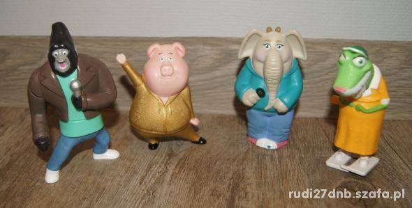 Figurki zestaw kolekcja Sing