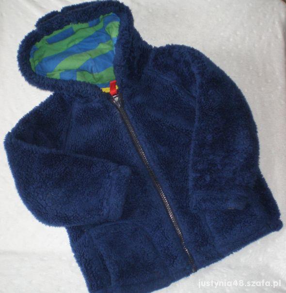 INDIGO misiowa bluza kurteczka z kapturem