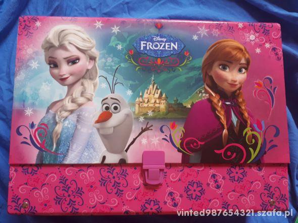 Disney Frozen Gruba teczka z rączką A4