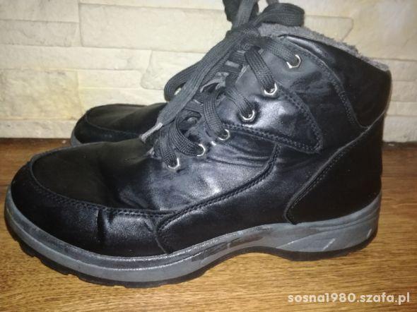 Buty zimowe rozmiar 44 chłopięce mocno ocieplane