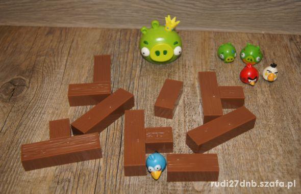Figurki Angry Birds klocki 14 elementów