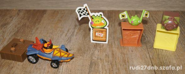 Figurka Angry Birds autko 8 elementów