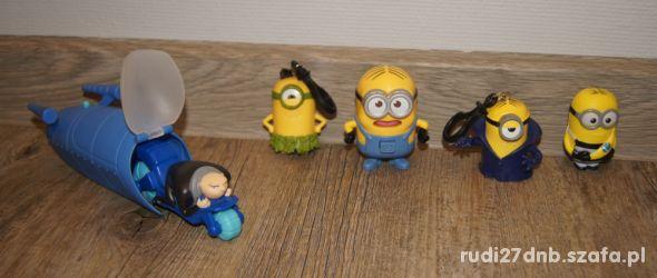 Figurki zestaw kolekcja Minionki 5 elementów