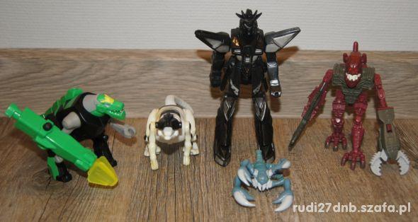 Figurki zestaw kolekcja Transformers Potwory 5 szt