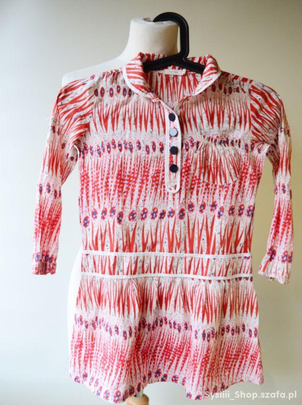 Sukienka Wzory 8 lat 128 cm Aya Naya Azteckie Modn