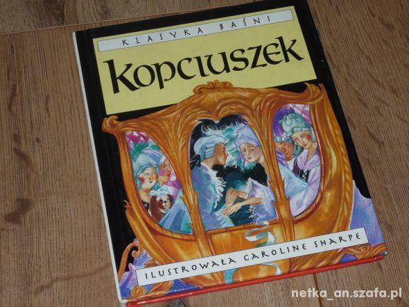 książka bajka Kopciuszek