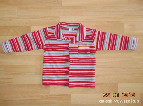 Flanelowa bluzka od pizamy rozmiar 104