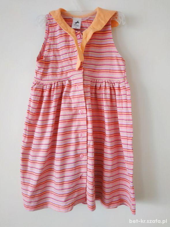 Bawełniana sukienka r 104