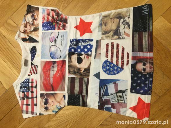 Śliczna koszulka 140 146