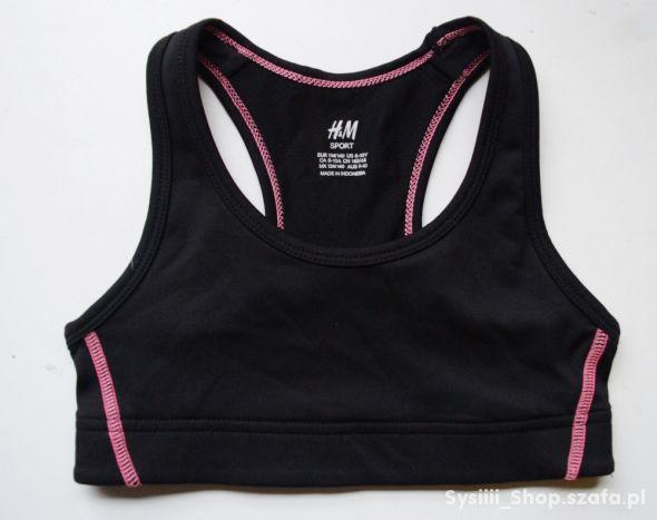 Stanik Sportowy H&M Sport 134 140 cm 8 10 lat
