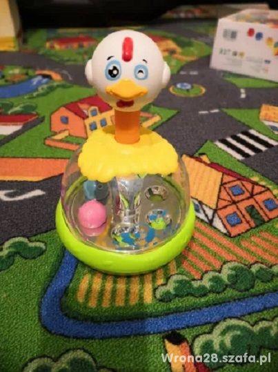 Bączek kurczak dla niemowlaka zabawka edukacyjna