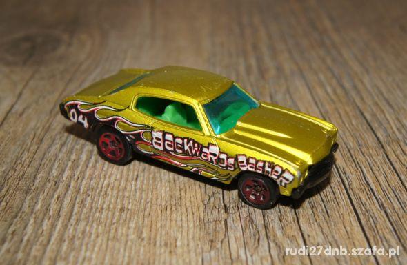 Autka samochody resoraki Hot Wheels zestaw zielony