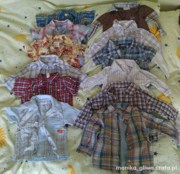 Ubranka dla chłopca do roku