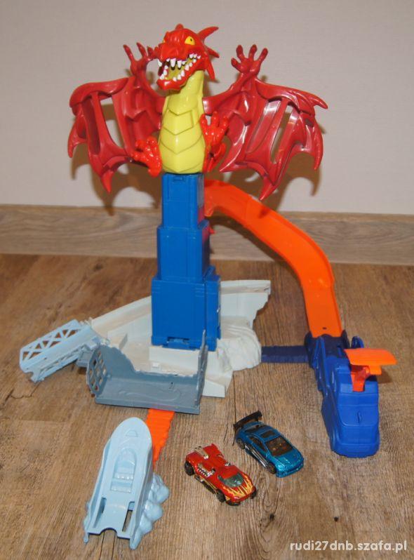Hot Wheels tor Smocze Wyzwanie Smok Dragon