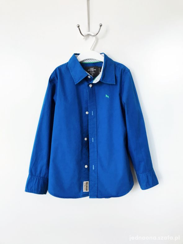 Ciemno niebieska koszula 122